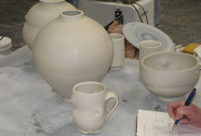 Some Tom Coleman pottery