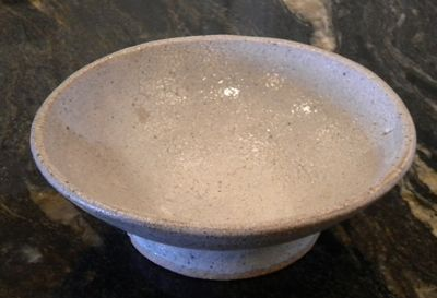 White bowl - not smooth