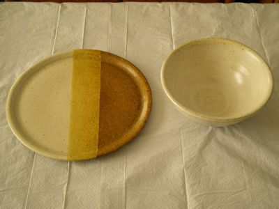 Dish and Bowl by Ruth